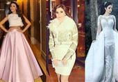 بالصور: أجمل فساتين النجمات العرب خلال عام 2015