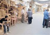 بالصور - فنانو الأثاث..''الأويميجة''وخطر اندثار المهنة بسبب ماكينات الحفر الصيني