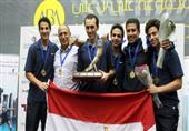 لاعبو المنتخب المصري للأسكواش يتألقون ببطولة الهند المفتوحة