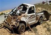 إصابة 5 أشخاص بينهم طفل في انقلاب سيارة نقل بالفرافرة