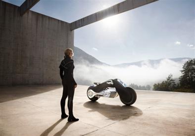 بي إم دبليو تكشف النقاب عن دراجة نارية من المستقبل.. فيديو وصور