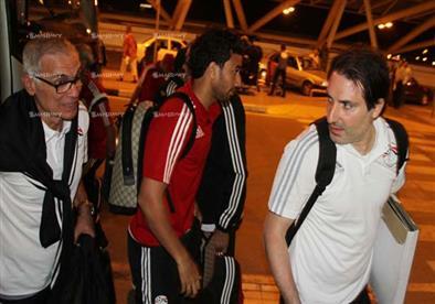 بالصور- سفر المنتخب المصري لتنزانيا