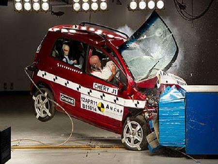 بالفيديو.. نتائج اختبارات تصادم أبرز السيارات الصينية