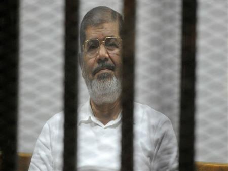قطاع السجون: محمد مرسي سجين عادي مثل الجميع
