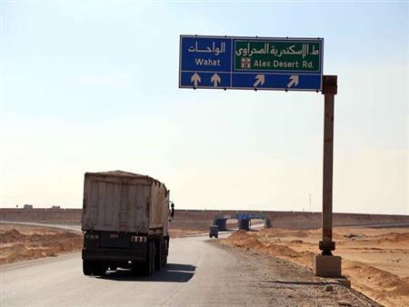 """""""مصراوي"""" يكشف تفاصيل 11 ساعة تمشيط لمنطقة هجوم الواحات"""