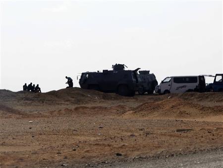 أين هرب الإرهابيون بعد معركة الكيلو 135؟