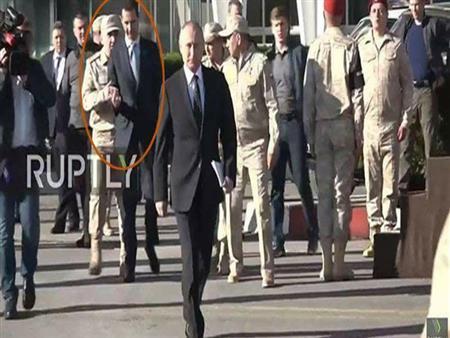 """توقعات باستبدال """"بشار"""".. ماذا وراء زيارة بوتين المفاجئة لسوريا؟"""