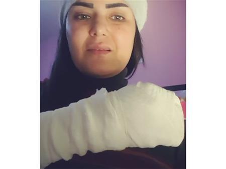 """سما المصري مُصابة بـ""""التهاب في الأعصاب"""": ادعولي (فيديو)"""