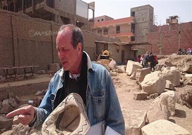 رئيس البعثة الألمانية المصرية لمصراوي: انتشال تمثال رمسيس أكبر اكتشاف