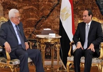 السيسي وأبو مازن يجريان مباحثات حول تطورات الأوضاع في فلسطين