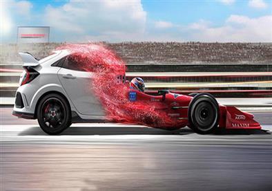 """هوندا تستعرض """"عضلات"""" سيارتها سيفيك Type R الجديدة.. فيديو"""
