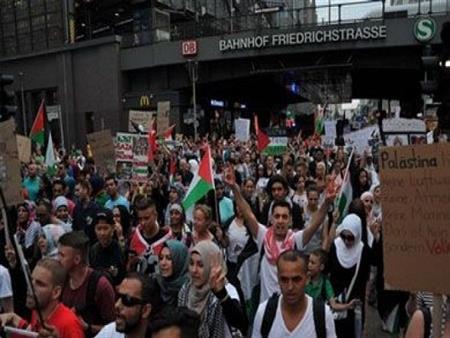 مظاهرة مناهضة لإسرائيل في برلين وتوقعات بمشاركة المئات