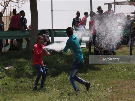 """زوار """"الفسطاط"""" في حماية الشرطة.. وإقبال كثيف في أول أيام العيد -(صور)"""