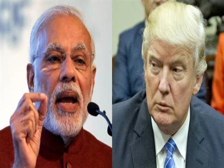 ترامب يستقبل رئيس الوزراء الهندي بالبيت الأبيض في أول لقاء بينهما