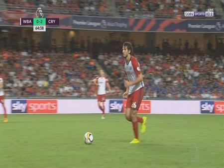 بالفيديو.. حجازي يشارك 90 دقيقة في خسارة بروميتش أمام بالاس