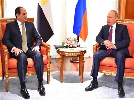 """تفاصيل جلسة المباحثات الرسمية بين السيسي وبوتين في """"سوتشي"""""""
