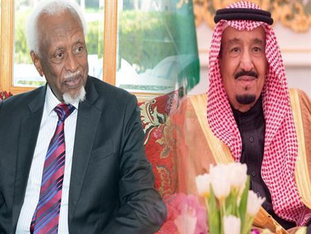 الملك سلمان يأمر بتنفيذ وصية رئيس السودان الأسبق