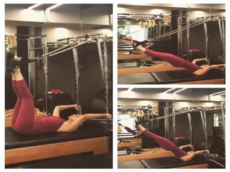 صور | النجمة الهندية عليا بهات تكشف تأثير التدريبات الرياضة على جسدها
