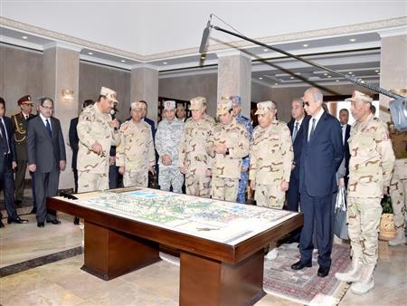 السيسي يمهل القوات المسلحة 4 سنوات لإنهاء تنمية سيناء