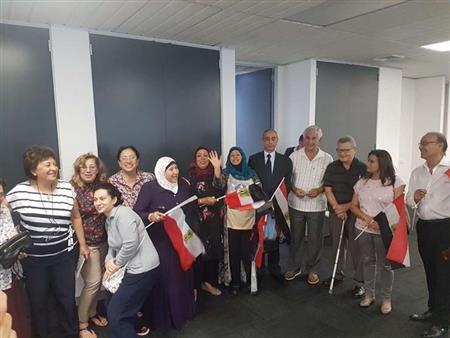 سفير مصر ببريتوريا: أعداد الناخبين تفوق الانتخابات الرئاسية في ٢٠١٤