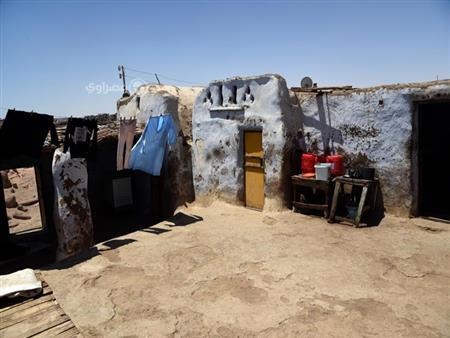 """بالصور- """"عواض"""".. جزيرة نوبية يسكنها """"الحزن"""" و10 عائلات"""