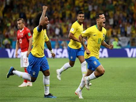 """""""كوتينيو"""" أفضل لاعب في مباراة البرازيل وسويسرا بمونديال روسيا"""