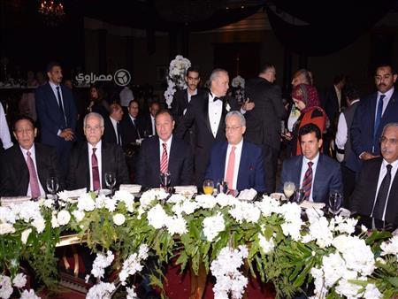بالصور.. الخطيب وغالي ونجوم الرياضة في حفل زفاف نجل شوقي غريب