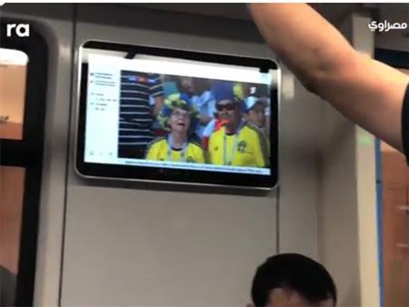 """""""شاشات عرض"""" في محطات مترو """"روسيا"""" لمتابعة """"كأس العالم"""": """"توصيلة وفرجة"""""""