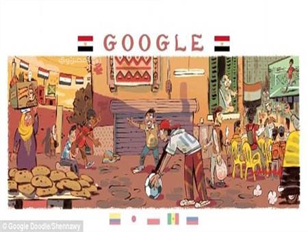 """احتفالًا بمونديال 2018.. قصة المصمم الذي رسم الشارع المصري على """"جوجل"""""""