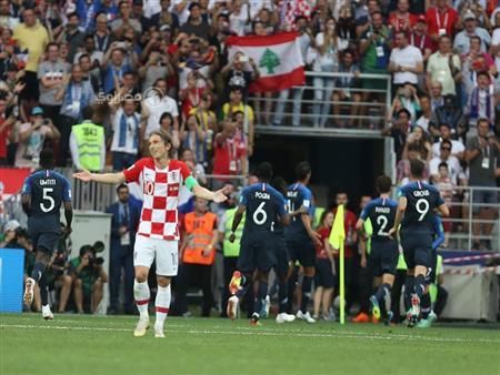 بالفيديو.. فرنسا بطلاً للعالم للمرة الثانية