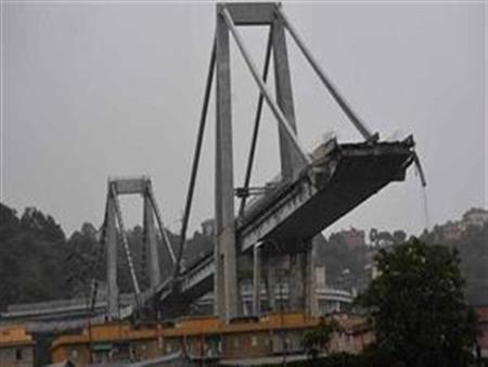 دراسة هندسية تكشف عن مفاجأة تتعلق بمأساة انهيار الجسر بمدينة جنوة الإيطالية