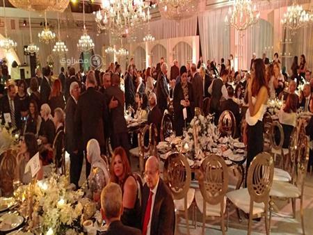 30 صورة من حفل زفاف نجل طارق عامر بحضور وزراء وشخصيات عامة