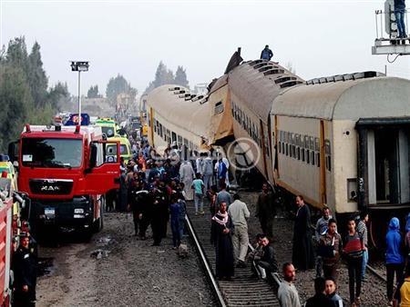 """""""ناس ملهاش ذنب"""".. رئيس """"السكك الحديدية"""" يتحدث عن كارثة """"المناشي""""- فيديو"""