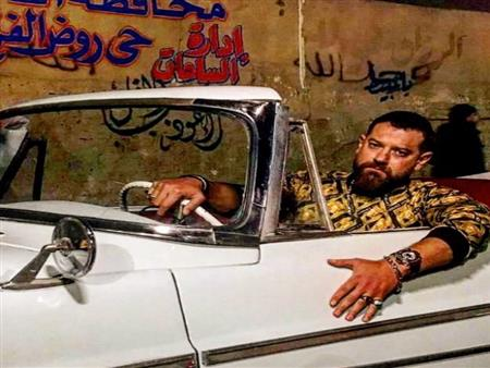 """عمرو يوسف ينشر أول صورة له في """"ولاد رزق 2"""""""