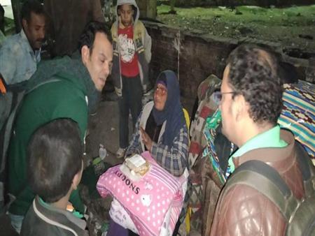 التضامن: إنقاذ 174 مشردًا و241 طفلاً بل مأوى منذ بدء الحملة