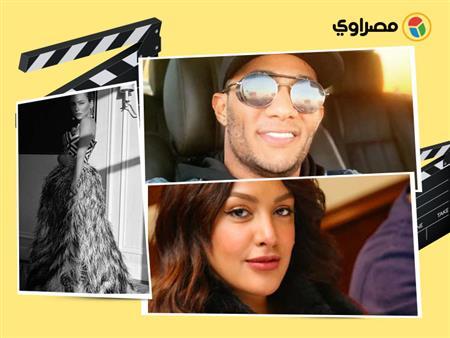 """""""ذكريات"""" سارة عبدالرحمن و""""كيرلي"""" هنادي مهنى.. 10 لقطات لنجوم الفن في 24 ساعة"""