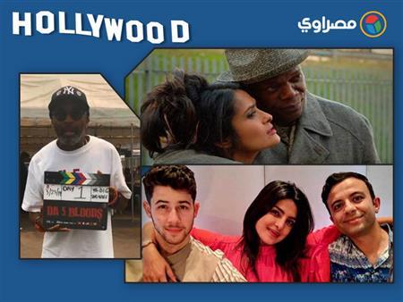 نشرة هوليوود| مادونا تدخن وسبايك لي من كواليس فيلمه الجديد وذا روك يحيي جمهوره