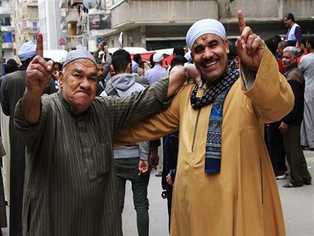 الاستفتاء في 60 صورة  مصر تصوّت على التعديلات الدستورية