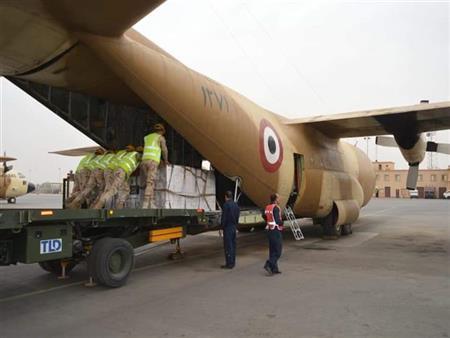 الخارجية: وصول طائراتين عسكريتين تنقلان مساعدات مصرية إلى زيمبابوي