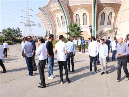 25 صورة من جنازة زوجة إبراهيم سعدة