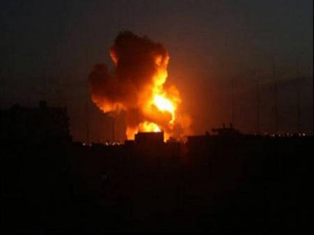 """""""العربية"""": غارات إسرائيلية على مواقع بقوسايا في البقاع اللبنانية"""