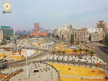 """""""الآثار"""" تكشف موعد الانتهاء من ترميم مسلة ميدان التحرير (صور)"""