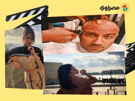 ولاء الشريف بإطلالة كاجوال ورزان مغربي تقبل ابنها.. 10 لقطات لنجوم الفن خلال 24 ساعة