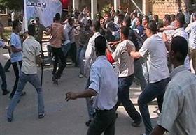 مشاجرة عنيفة في مدرسة بالإسكندرية بين طلاب العربي واللغات (فيديو)