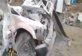 الابراشى يعرض فيديو انفجار قنبلة فى أرهابين اثناء صنعها