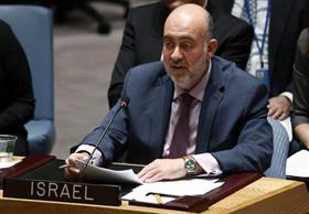 السفير الإسرائيلي بالأمم المتحدة يطالب رسمياً بـ