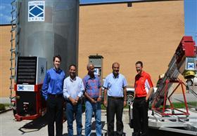 وزير التموين يزور مصنع الشركة الأمريكية المعنية بتنفيذ 3 مشروعات في مصر