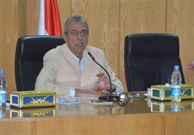 """محافظ المنيا يناشد رجال الأعمال والمستثمرين بدعم صندوق""""تحيا مصر"""""""