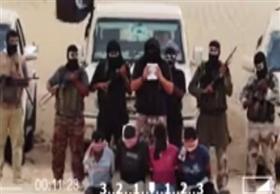 """""""انصار بيت المقدس"""" تنشر فيديو لذبح 4 من سيناء بدعوى """"تخابرهم مع الموساد"""
