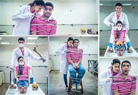 خصم 4 أيام لطبيب صور خطيبته داخل